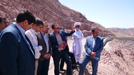 بازديد سرپرست محترم معاونت هماهنگي امور عمراني استانداري از پروژه سد سياهو