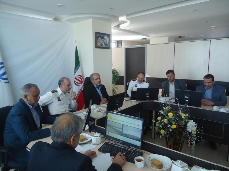 برگزاری  جلسه کمیسیون اجرایی ایمنی حمل و نقل و مدیریت سوانح رانندگی استان